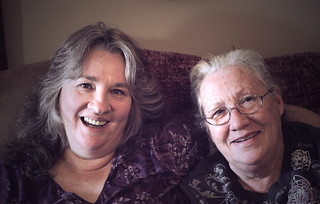Mom and Grandma Jean