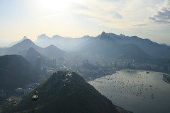 View Over Rio from Pao de Acucar