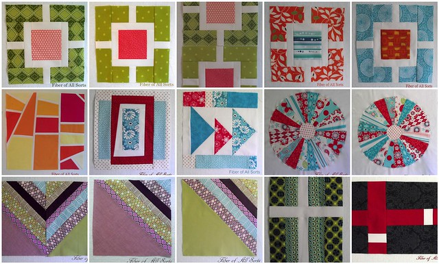 July 2011 Bee Blocks