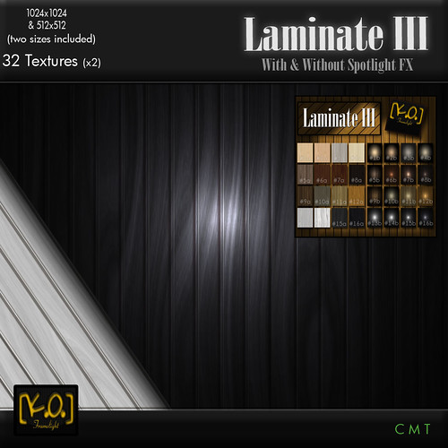 [K.O.] - Laminate III - 32 Textures by Khan Omizu