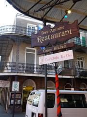 木, 2010-12-02 10:42 - Cocktails To Goの看板 French Quarter, New Orleans