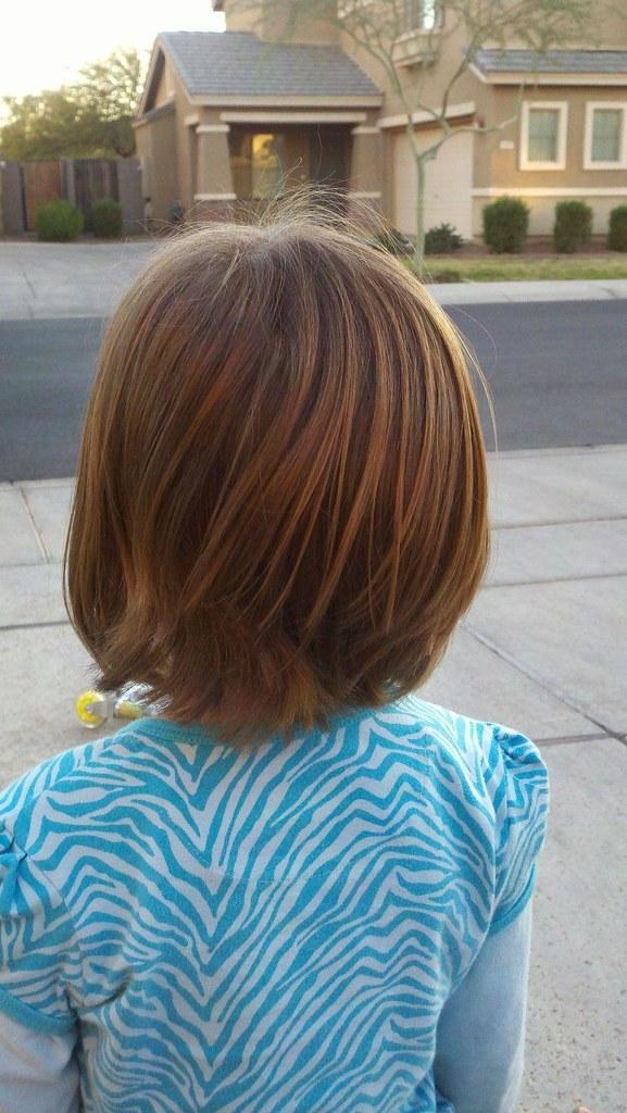 Raena's New Haircut