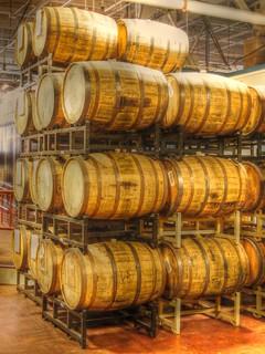 Barrels, Samuel Adams Brewery
