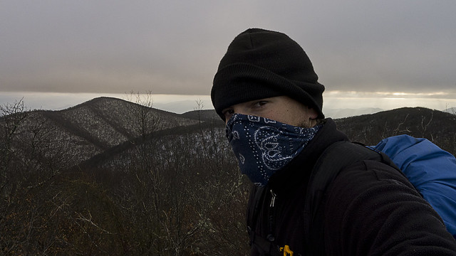 Appalachian Trail, Backpacking, hiking, camping, nature, photography, cold, bandanna, backpacker, hiker