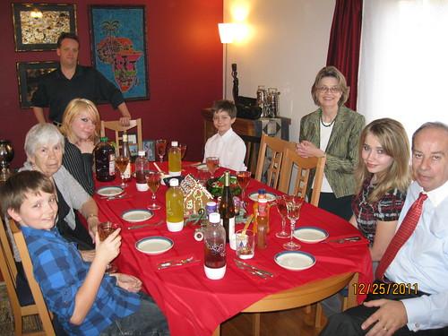 12/25/11: Christmas dinner