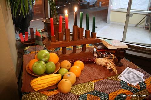 Kwanzaa altar