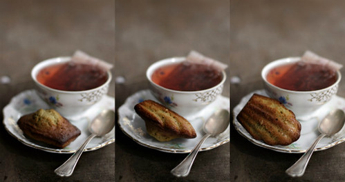 Collage madeleines