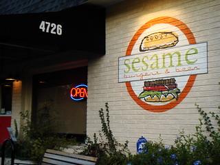 Sesame Burgers & Beers