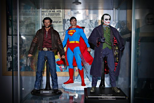 Current Hot Toys display_Jan '12...