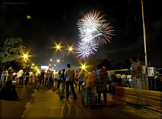 AÑO NUEVO 2012 | ÑUÑOA