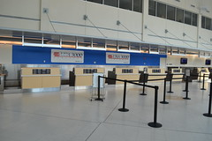 USA3000 Ticket Counter in Fort Myers