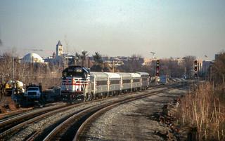 19990205 12 Virginia Railway Express, Crystal City, VA