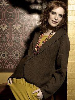 Debbie Bliss Fez Diagonal Front Jacket
