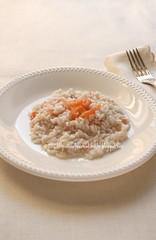 Risotto allo spumante e salmone affumicato