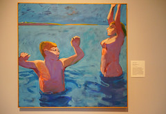 2011-12-17 Palo Alto, Stanford University 115 Museum of Art, Theophilus Brown - Swimmers at Dawn
