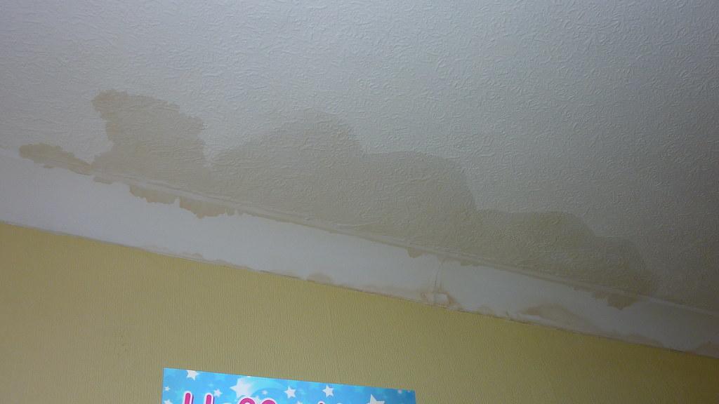 Chimney Leak After Heavy Rain