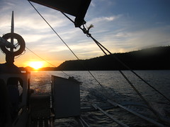 Island Hopping - Sunset