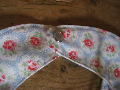 Sweet bib made from a favourite Cath Kidston fabric
