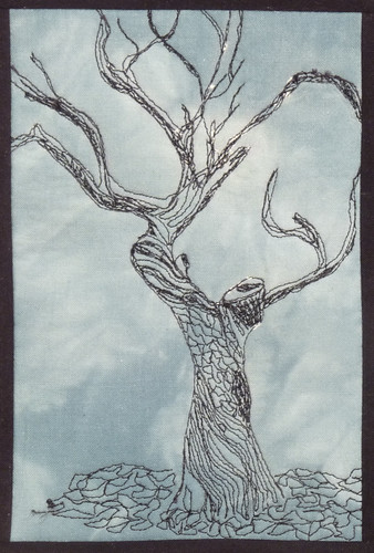 Just Crafty Enough – Quilt of the Day – Plum Tree Quilts : tree quilts - Adamdwight.com