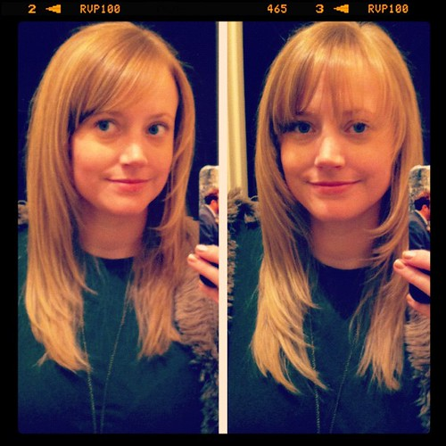 Side bangs vs. full bangs...hmm