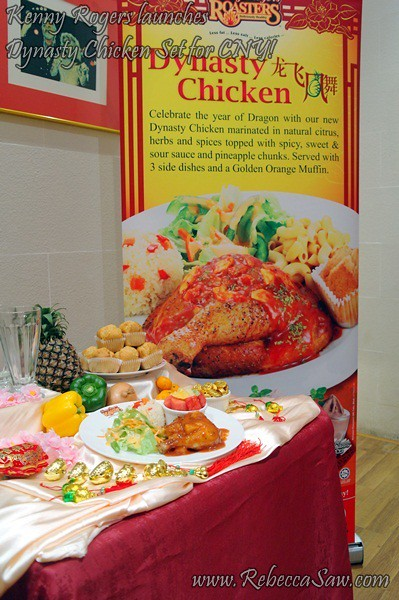 Kenny Rogers Roasters launches Dynasty Chicken Set -1