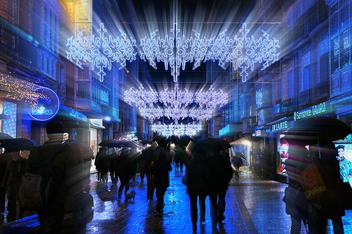 Calle navideña