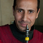 Egyptian Man with Hookah Pipe - Cairo, Egypt