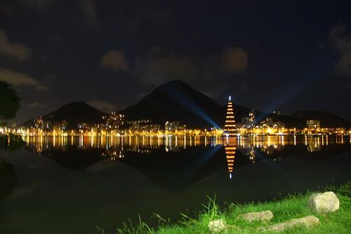 Panorâmica da árvore da Lagoa