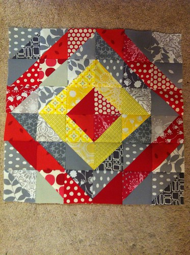 4x5 block for Amy!