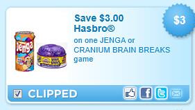 Jenga Or Cranium Brain Breaks Game Coupon