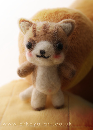My first attempt at needle felting :)