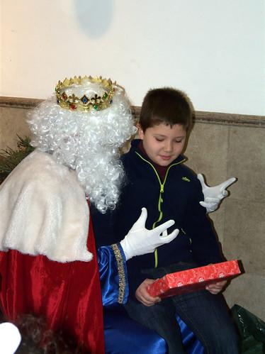 Los Reyes Magos visitan a los niños del Rescate (XIII)