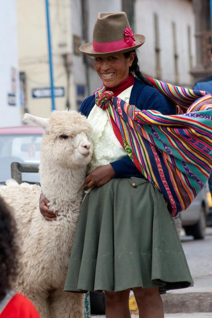 Fotografando desconhecidos - Cusco