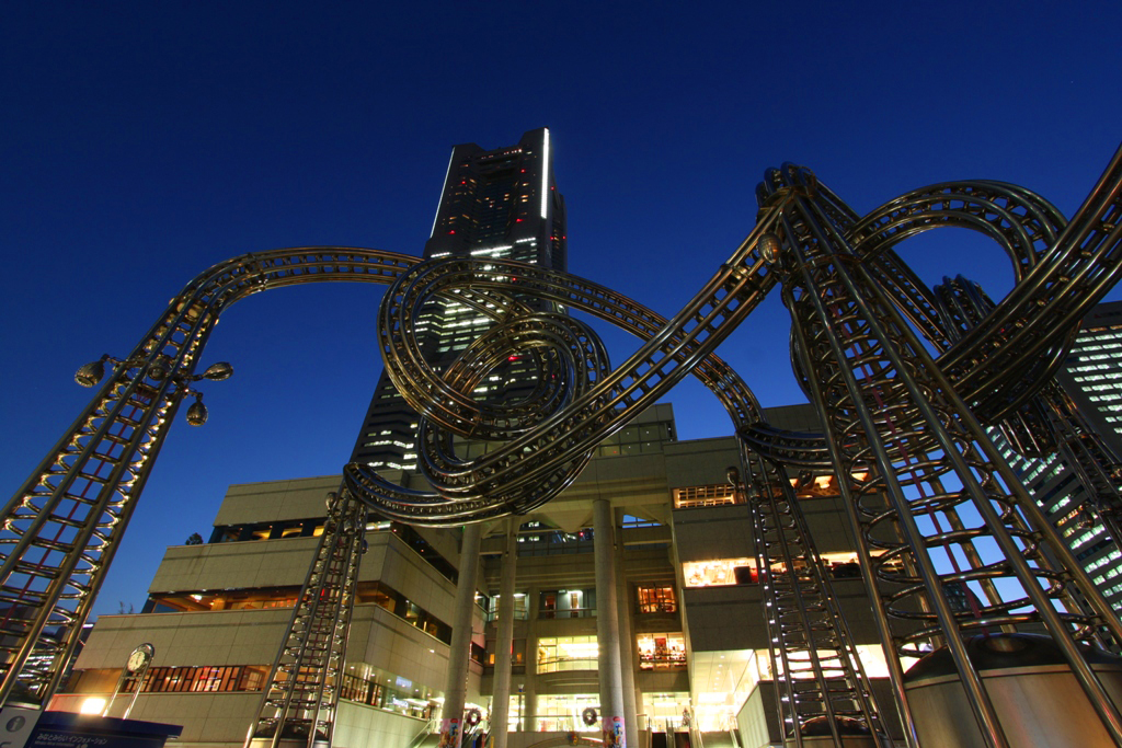 Yokohama Night Photo (1)