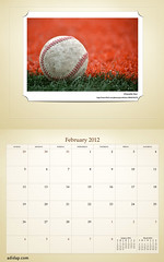 ADIDAP Calendar 2012 US Retro February