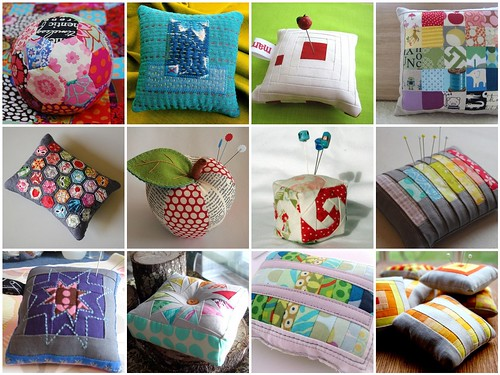 Mosaic February Pincushion Swap