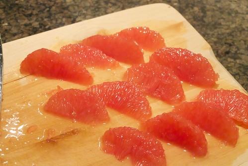 grapefruit segments