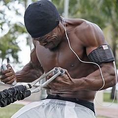 Creatine can help take some of the pain out of your workout, allowing you to work harder and longer for better results
