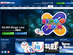 BetFred Bingo Bonus