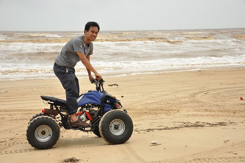Amer@TendToTravel - ATV fun on the East Coast of Malaysia