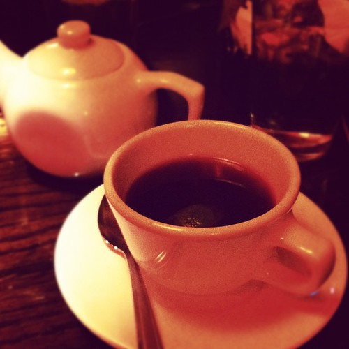Berry tea at Sunflower.