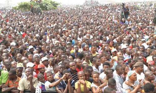 Thousands gather in protest in Ojota Lagos during the general strike over fuel subsidies in the Federal Republic of Nigeria. The West African state is the largest oil exporter in Africa to the United States. by Pan-African News Wire File Photos