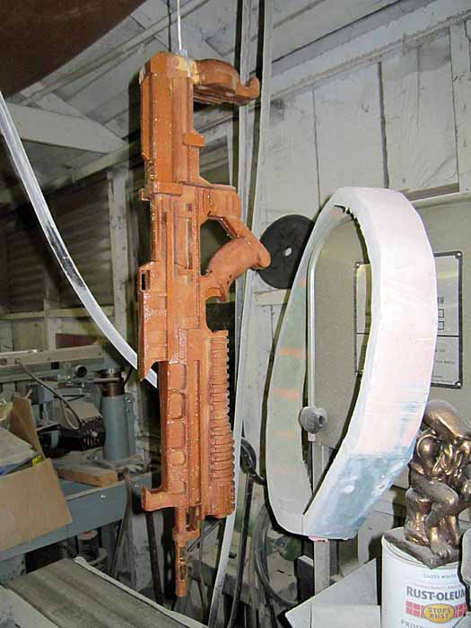 Helghast STA-52 LAR hanging