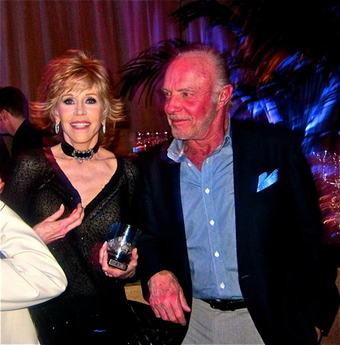 Jane Fonda and James Caan
