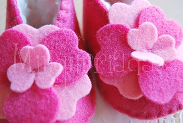 Patucos Flores