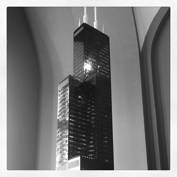 Sears Tower in legos