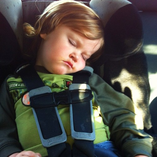 Carseat snooze