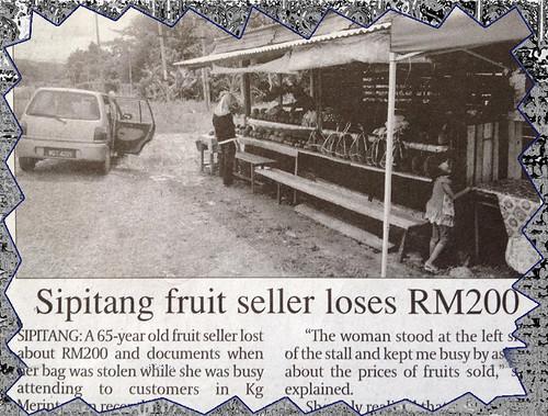 Sipitang fruitseller