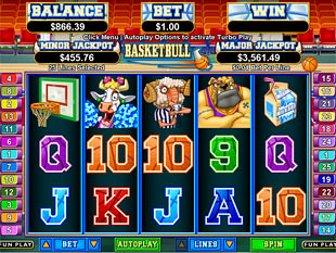 Basketbull Slot Machine