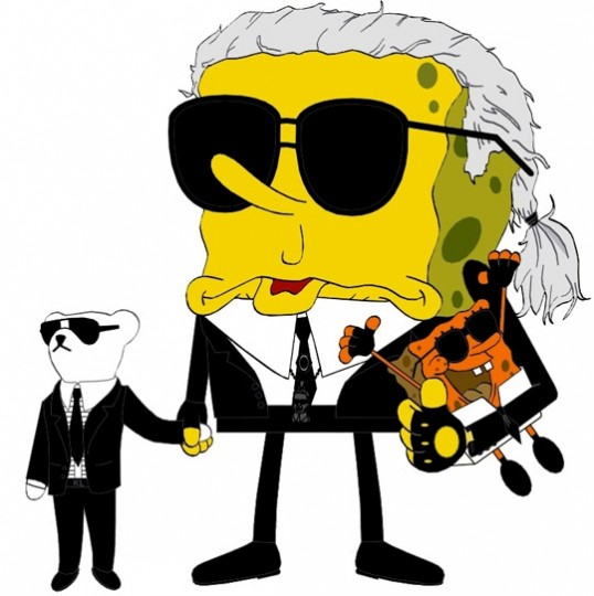 sponge-bob-karl-lagerfeld
